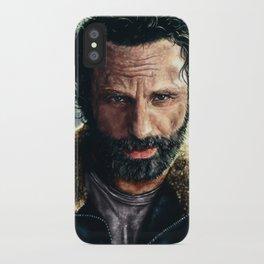 The Walking Dead - Rick Grimes iPhone Case
