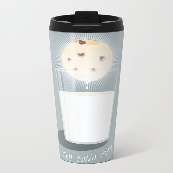 Full cookie rising Metal Travel Mug
