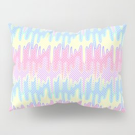 Melty Patterned Slime Pillow Sham