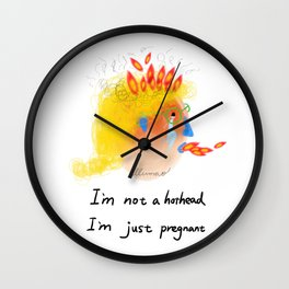 Considerate Wall Clock