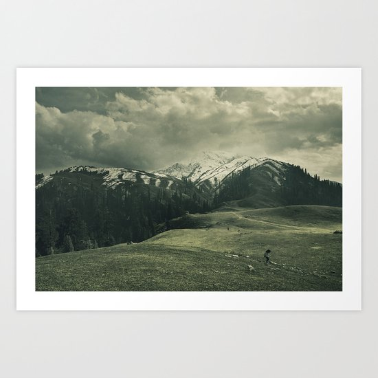 Spider mountain II Art Print