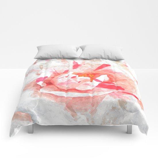 Winter Pink Comforters