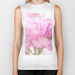 Light Pink Blend Rose #1 #floral #decor #art #society6 Biker Tank