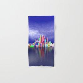 city in nowhereland Hand & Bath Towel