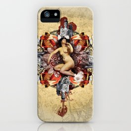 Kaleidoscope Woman iPhone Case