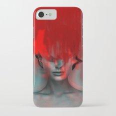 Red Head Woman Slim Case iPhone 7
