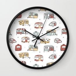 Campers Wall Clock