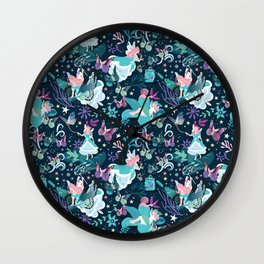 Butterfly princess Wall Clock