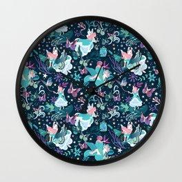 Butterfly princess Wall Clock