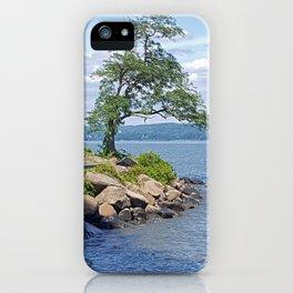 Hudson River Walk iPhone Case