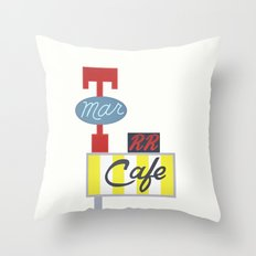 the Double R - Twin Peaks Throw Pillow