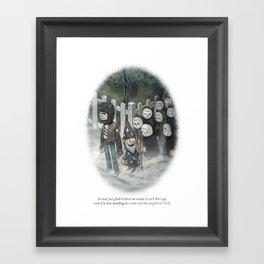 Behind You 78 Framed Art Print