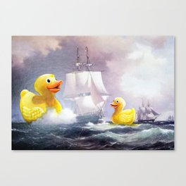Terror on the High Seas II Canvas Print