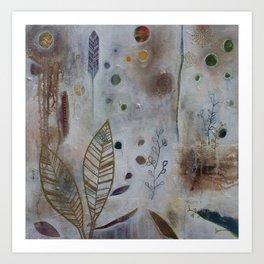 Luna Leaf Art Print