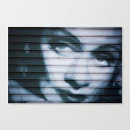Dietrich on the Boulevard Canvas Print