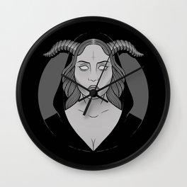 Occult Girl Wall Clock