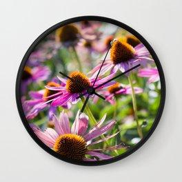 Among the Wildflowers Wall Clock