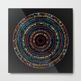 genome mosaic 3-1 Metal Print