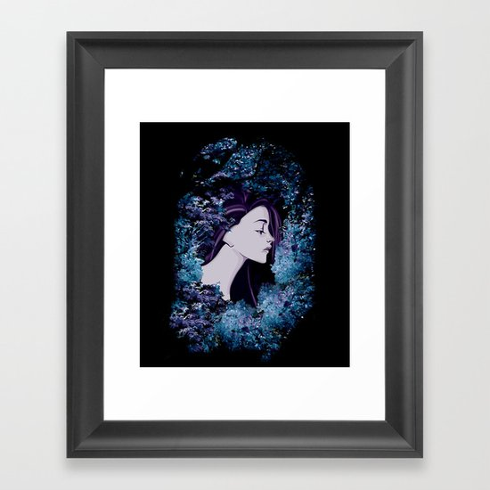 The Colorful Unknown Framed Art Print