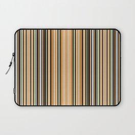 Grey-beige stripes Laptop Sleeve