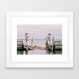 The Barge (1) Framed Art Print