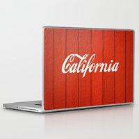 california Laptop & iPad Skins featuring California  by Spyck