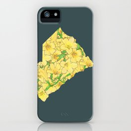 South Carolina in Flowers iPhone Case
