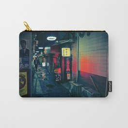 Tokyo Night - Back alley with red sign Carry-All Pouch