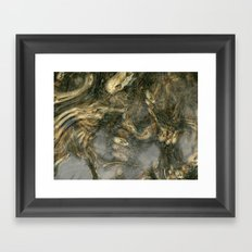 Nightmare in the catacombs Framed Art Print