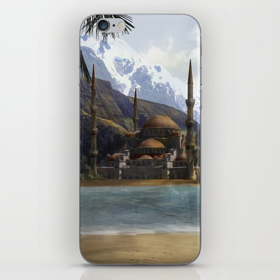 Hidden in the Mountains iPhone & iPod Skin
