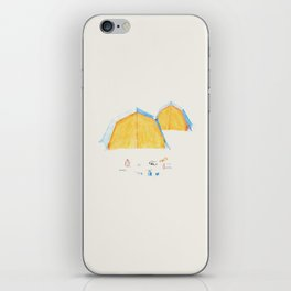 Le Camping iPhone Skin