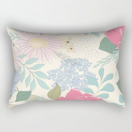 Lulu Floral Rectangular Pillow