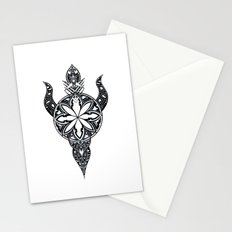 Flower of the sun Stationery Cards