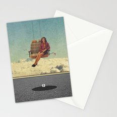 Up In The Air | Collage Stationery Cards