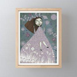 Clouds in June, Make them Bloom Framed Mini Art Print