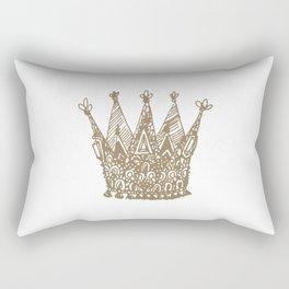 Royal Crown Rectangular Pillow