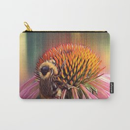 Coneflower Bee Carry-All Pouch