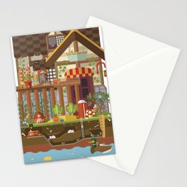 Big World, Little People Stationery Cards