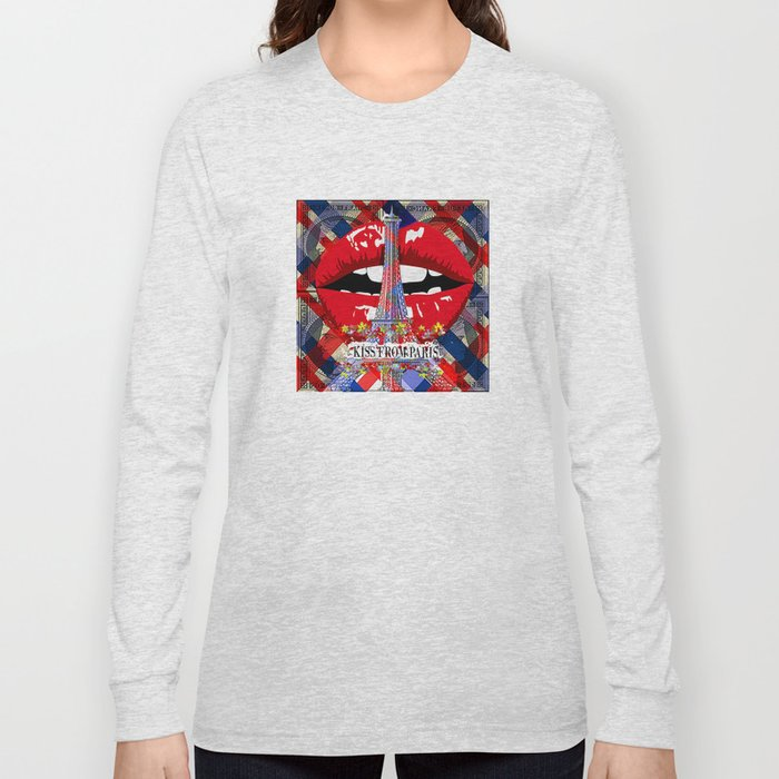 KISS FROM PARIS Long Sleeve T-shirt