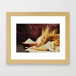 Natura morta Framed Art Print