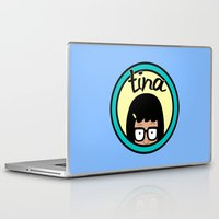 daria Laptop & iPad Skins featuring Tina by Page394
