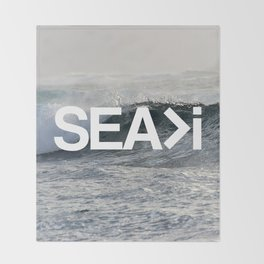 SEA>i  |  The Wave Throw Blanket