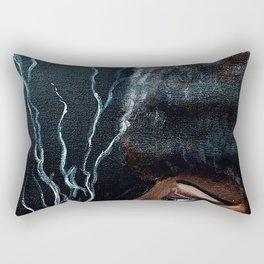 Belleza Negra Rectangular Pillow