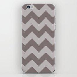 Gray Chevron iPhone Skin