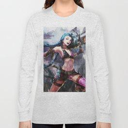 League of Legends JINX Long Sleeve T-shirt