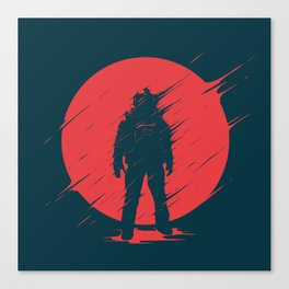 Red Sphere Canvas Print