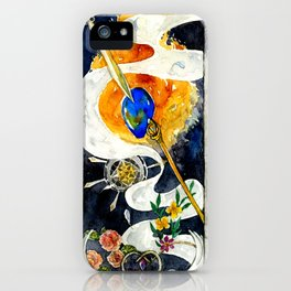 Brothers of the Magical Sapphire iPhone Case