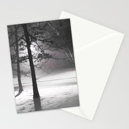 Snow in March Stationery Cards