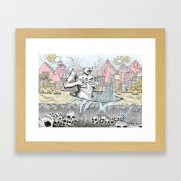 Alternative Reality 2018 Framed Art Print