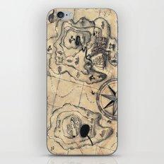 Old Nautical Map iPhone & iPod Skin